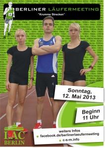 Poster zum Läufermeeting
