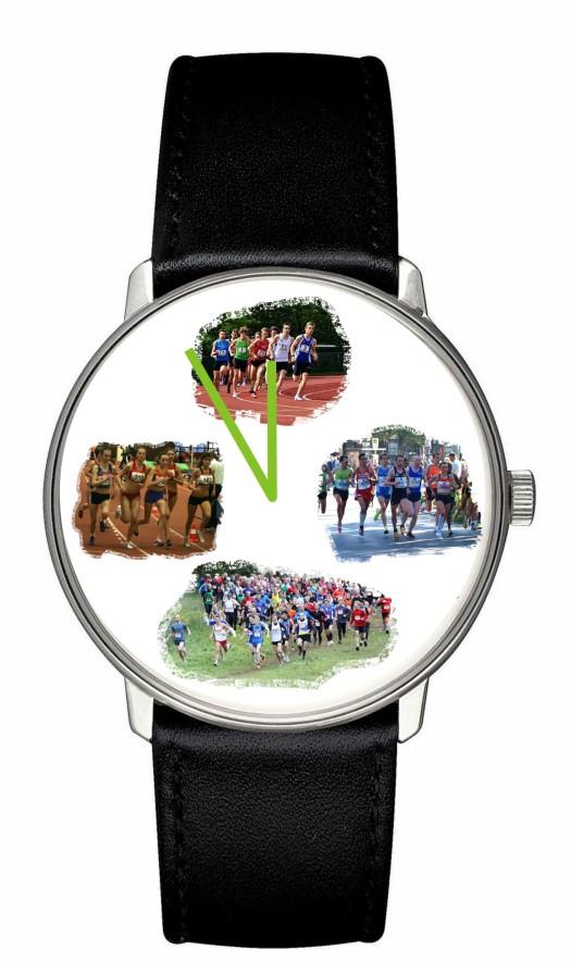 Jahresuhr für Läufer